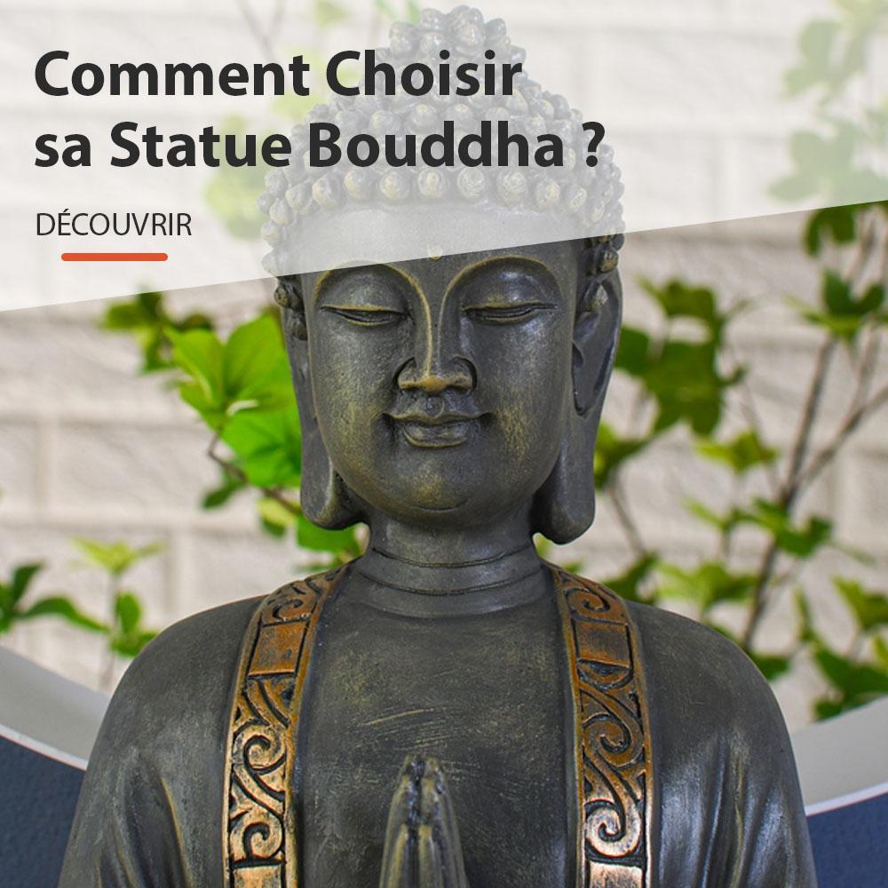 comment choisir sa statue Bouddha ?
