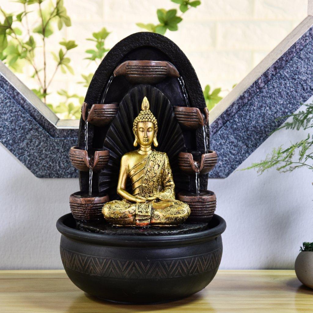 Fontaine d'intérieur Bouddha Chakra